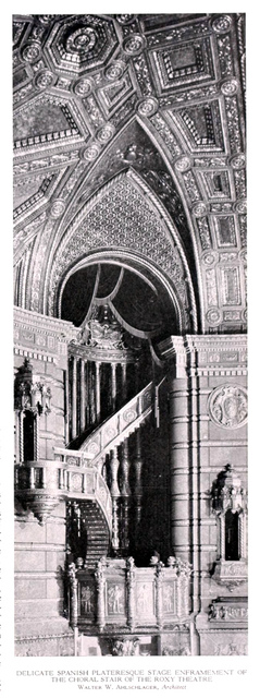 Roxy Theatre, New York in 1927 - Choral stair