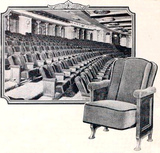 Roxy Theatre, New York in 1927 - Seating