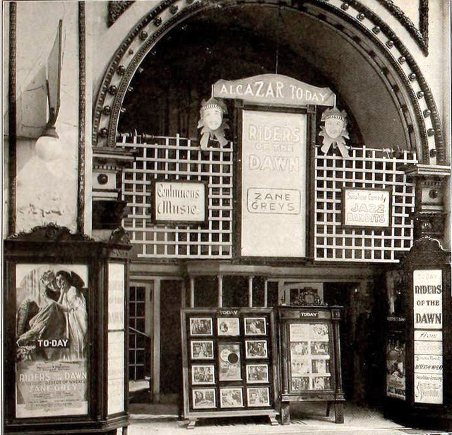 Alcazar Theatre, Birmingham, Alabama in 1920