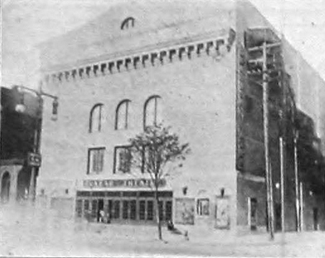 Dunbar Theatre, Philadelphia PA in 1920 - Broad and Lombard Streets