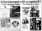 March 18th 1977 opening as Capitol 6