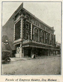 Empress Theatre, Des Moines in 1920