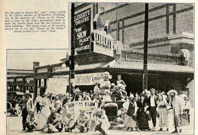 Liberty Theatre, Wenatchee, Washington in 1920