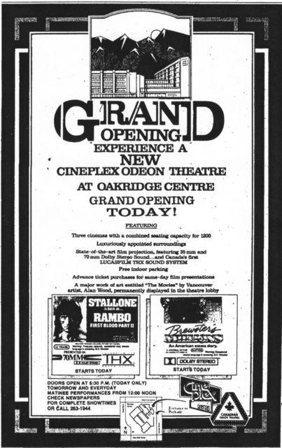 May 22nd, 1985