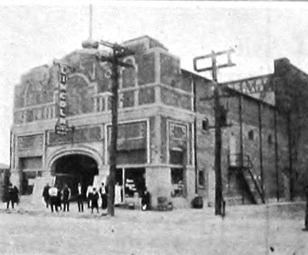 Lincoln Theatre, Newport News VA in 1920 - Twentieth and Jefferson Streets