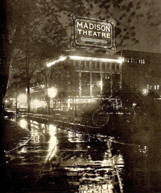 Madison Theatre, Detroit MI in 1920