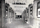<p>Merrill Theatre, Milwaukee MI in 1920 – Lobby</p>