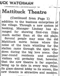 Mattituck Theatre