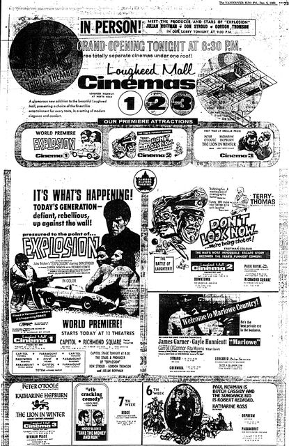December 5th, 1969 grand opening ad