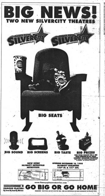 November 6th, 1998 grand opening ad