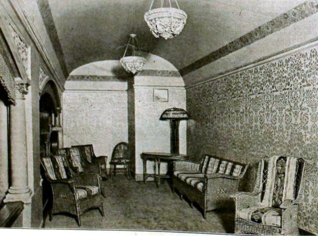 Rialto Theatre, Aurora IL in 1920 - Public Room