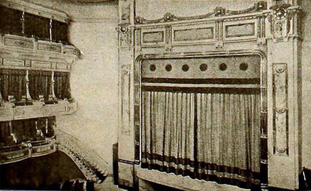 Royal Cinema, Madrid, Spain in 1920 - Stage