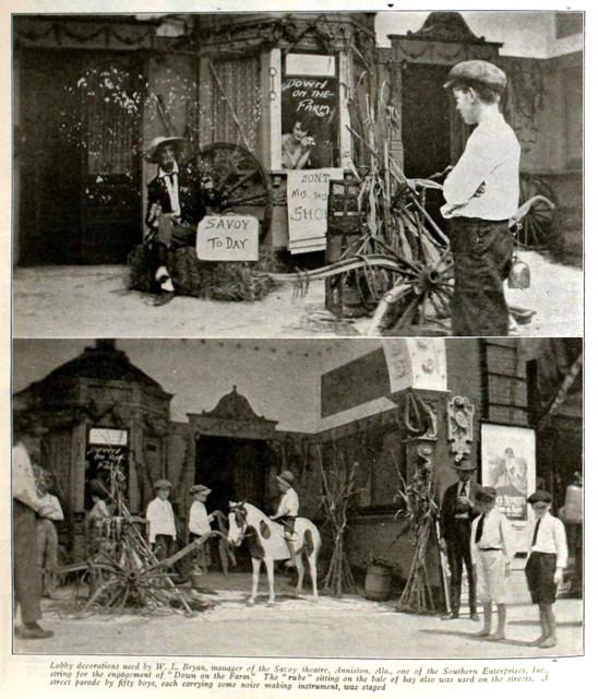 Savoy Theatre, Anniston, Alabama in 1920