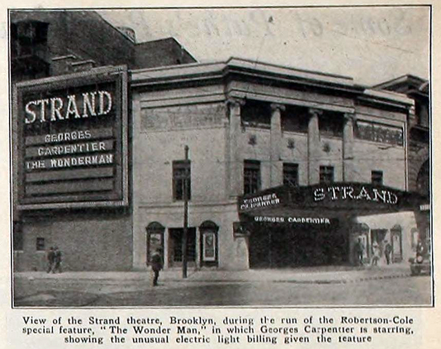 Strand Theatre, Brooklyn, New York in 1920