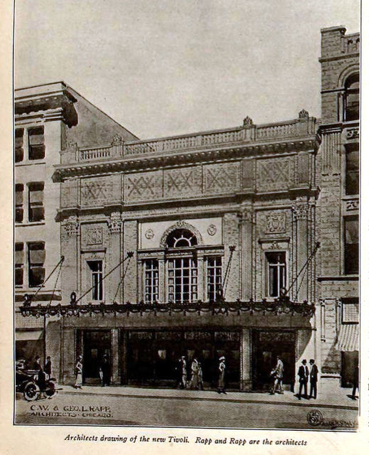 Tivoli Theatre, Chattanooga in 1921
