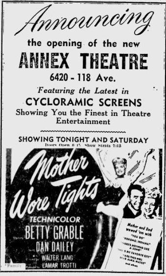 May 12th, 1950 grand opening ad