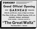 October 24th, 1940 grand opening ad