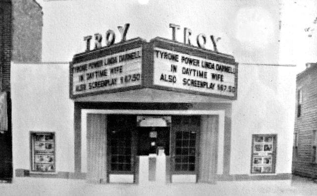 TROY Theatre; East Troy, Wisconsin.