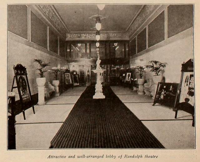 Randolph Theatre Lobby