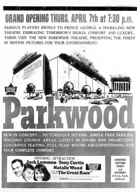April 6th, 1966 grand opening ad