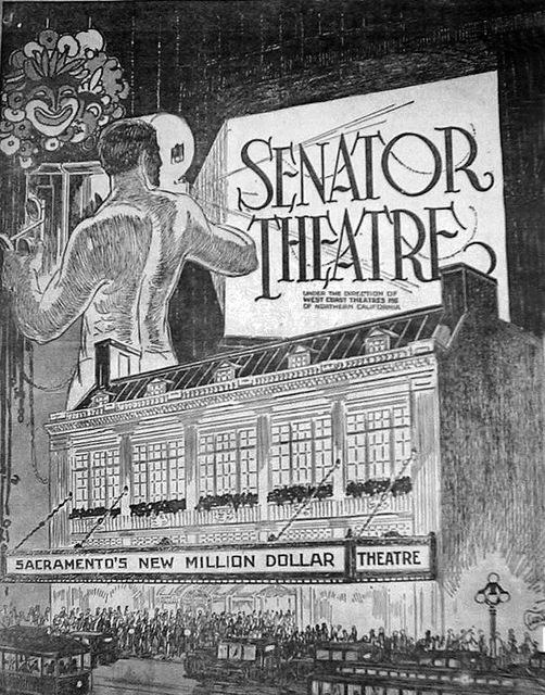 Fox Senator Opening 1924 (Newspaper Ad)