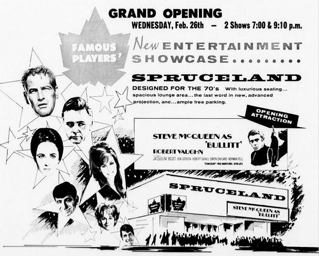 February 25th, 1969 grand opening ad
