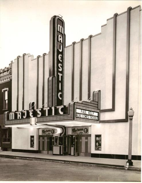 The Majestic Theatre Circa 1936
