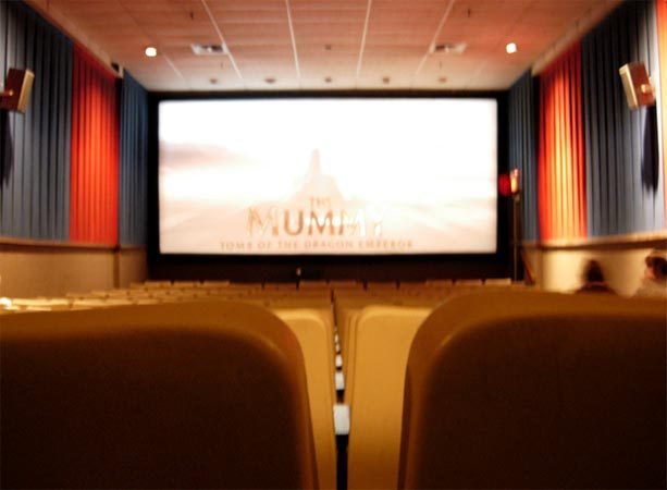 Interior view at CinemaSalem