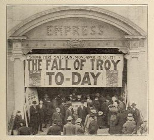 Empress Theatre, 416 Ninth Street NW, Washington DC in May 1911