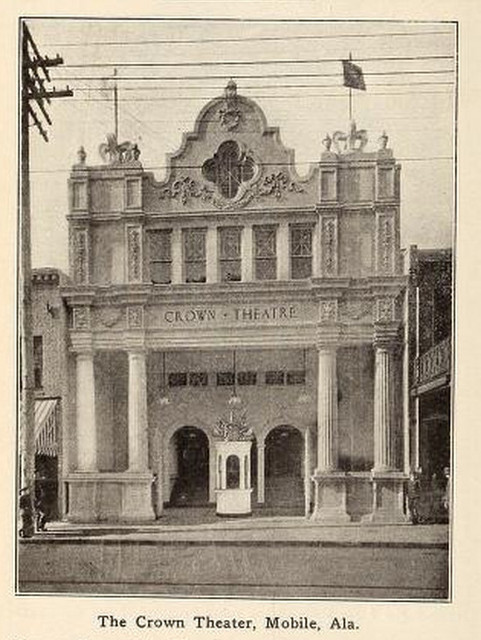 Crown Theater, Mobile, Alabama in 1911