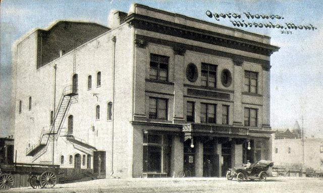 HARNOIS (MISSOULA, LIBERTY) Theatre; Missoula, Montana.