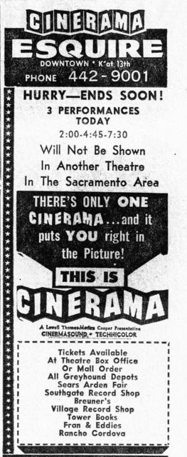 Cinerama at the Esquire
