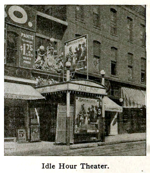 Idle Hour Theatre, Kansas City, Missouri in 1916