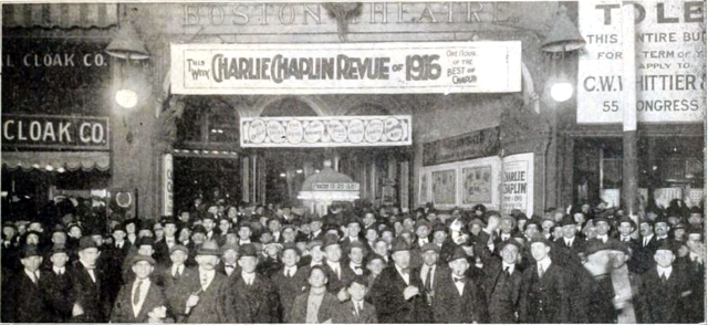 Boston Theatre, Boston in 1916