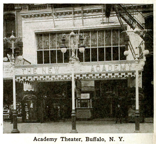 Academy Theatre, Buffalo, New York in 1916