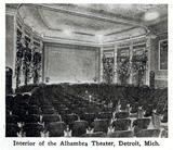 Alhambra Theatre, Detroit, Michigan in 1916