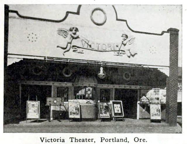 Victoria Theatre, Portland, Oregon in 1916