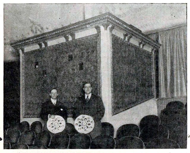 Triangle Theatre, Brooklyn, New York in 1916 - Projection Booth
