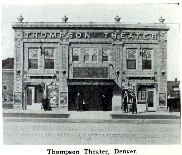 Thompson Theatre, Denver, Colorado in 1916