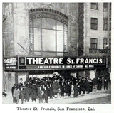Theatre St. Francis, Geary Street near Powell, San Francisco, California in 1916