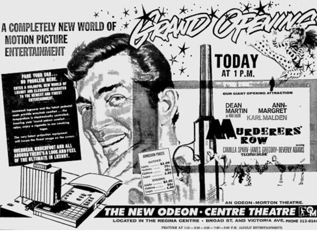 Grand opening ad from January 28th, 1967.