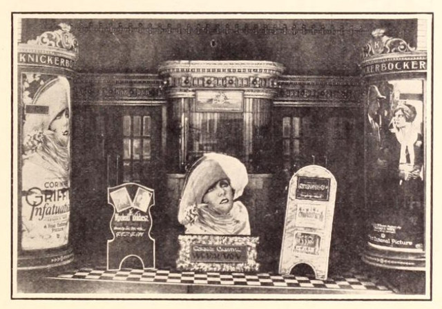 Knickerbocker Theatre, 219 Capitol Boulevard, Nashville, Tenn in 1926 - Entrance Lobby