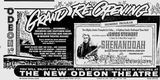 August 30th, 1965 grand opening ad as Odeon