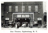 Star Theatre, Ogdensburg, New York in 1916