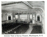 Savoy Theatre, Washington, D.C., in 1916