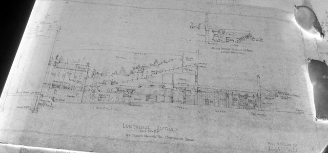State Theatre Auditorium Architectural Drawing