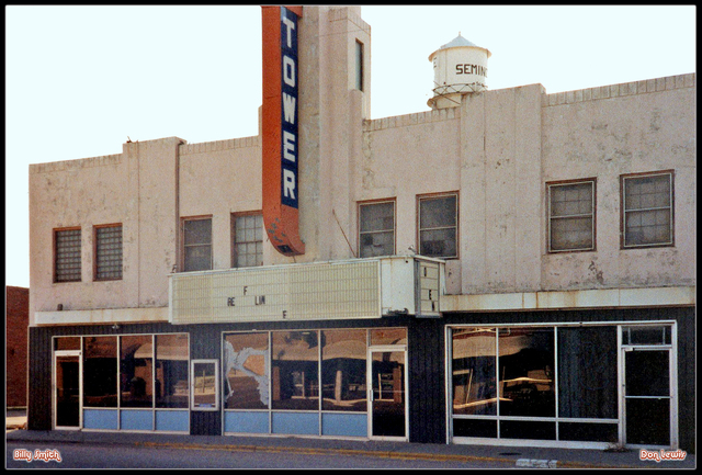 Tower Theater ... Seminole Texas
