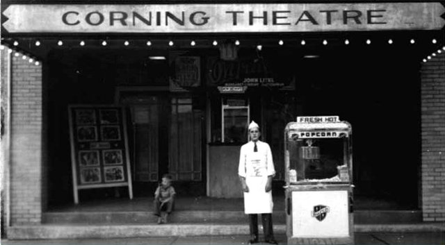 CORNING Theatre; Corning, Ohio.