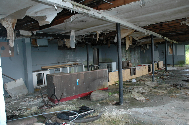 Middletown Drive In Concession Stand Interior