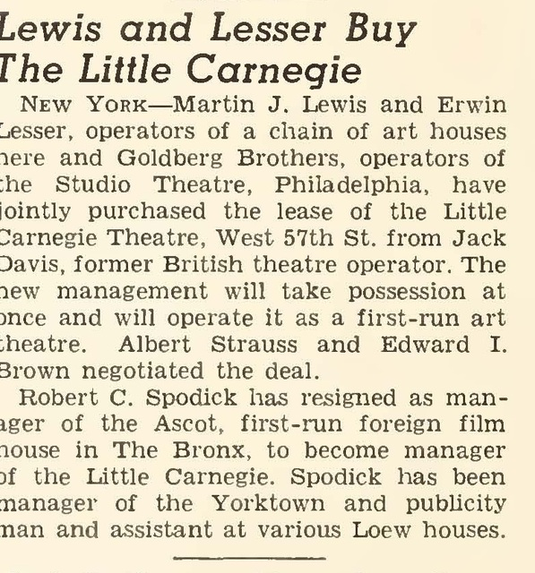 Little Carnegie Theatre